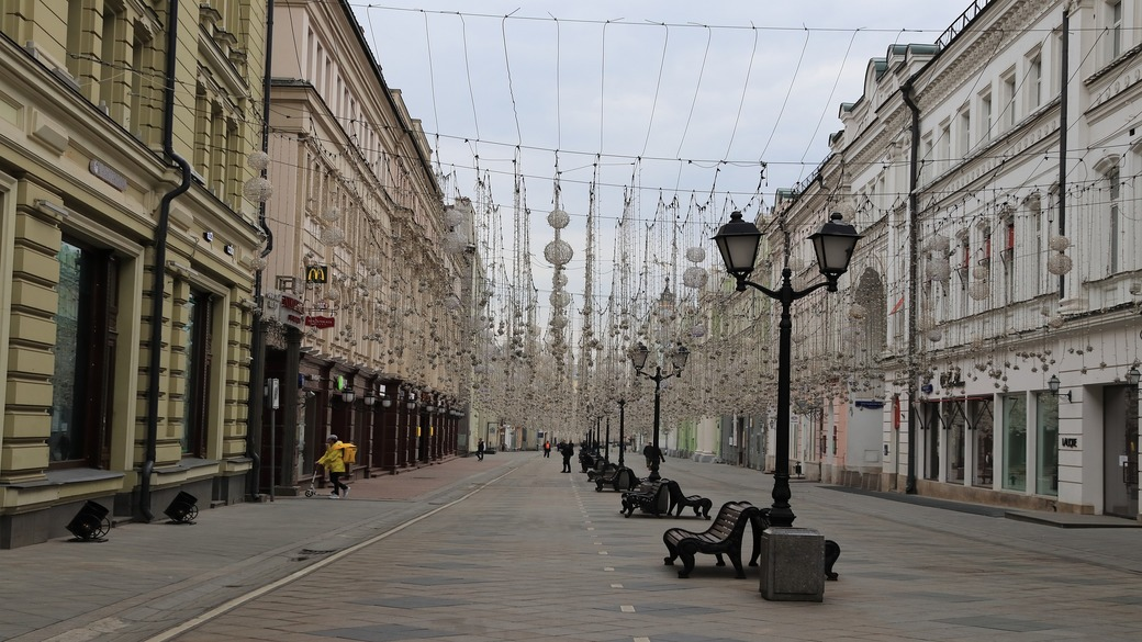 Leeres Moskau