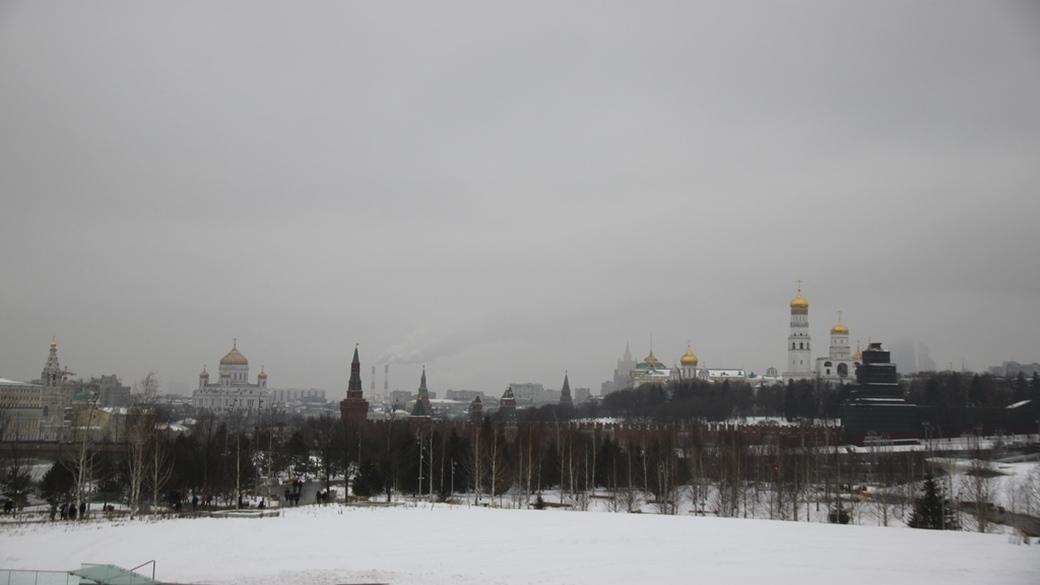 Moskau Schnee