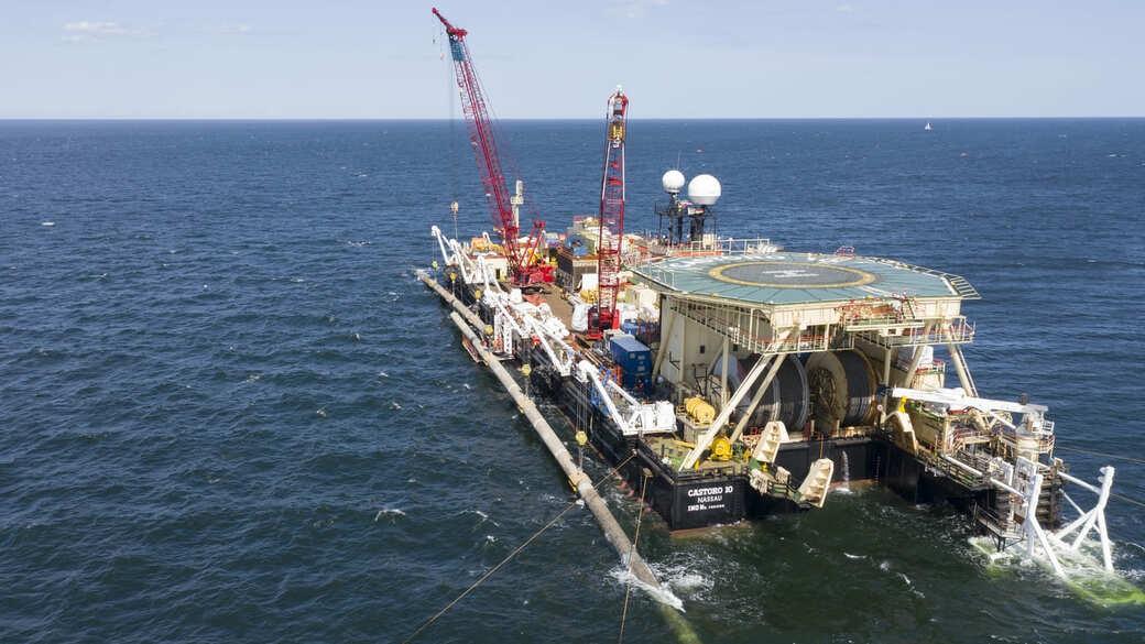 Nord Stream 2 Verlegearbeiten