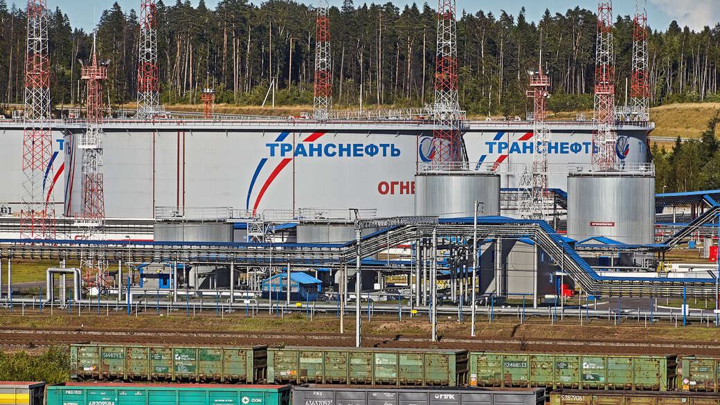 Ölraffinierie Sankt Petersburg