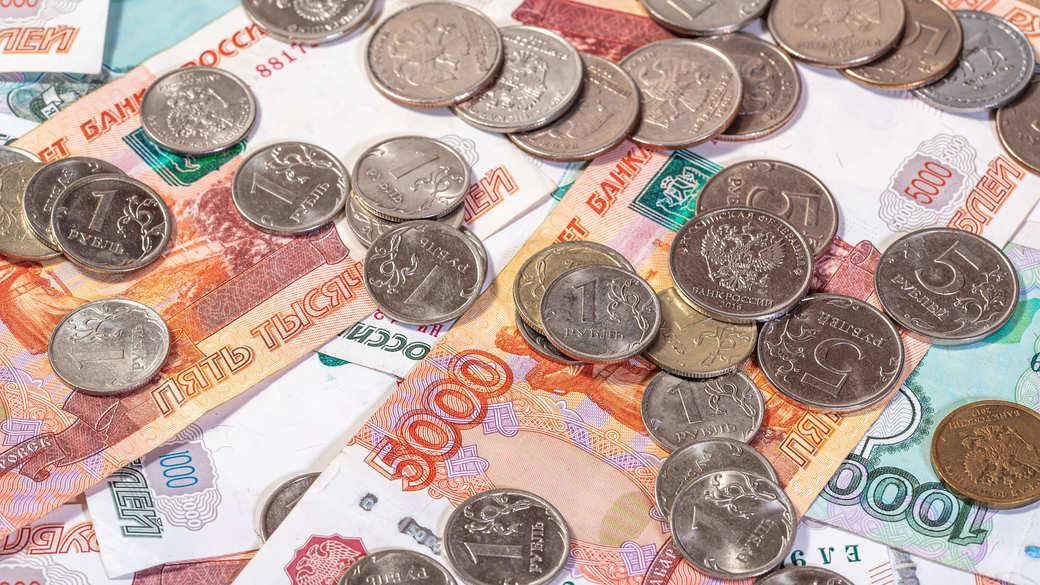 Bargeld Rubel