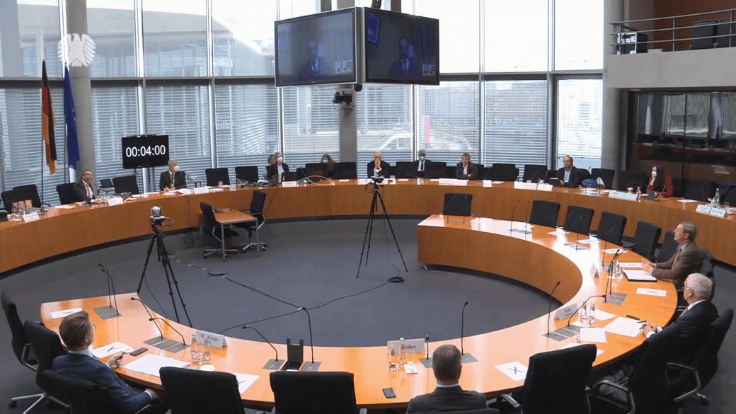 Bundestag Wirtschaftsausschuss zu Russland