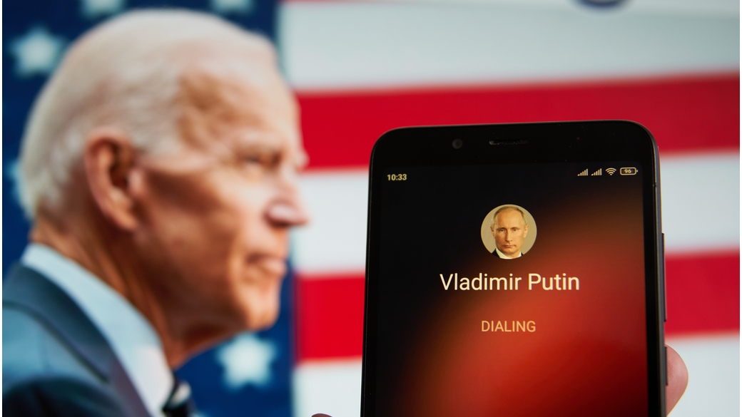 Biden Putin Telefonat