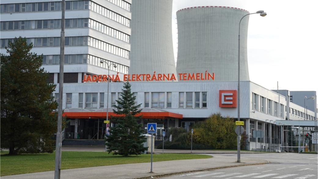 Kernkraftwerk Temelin Tschechien