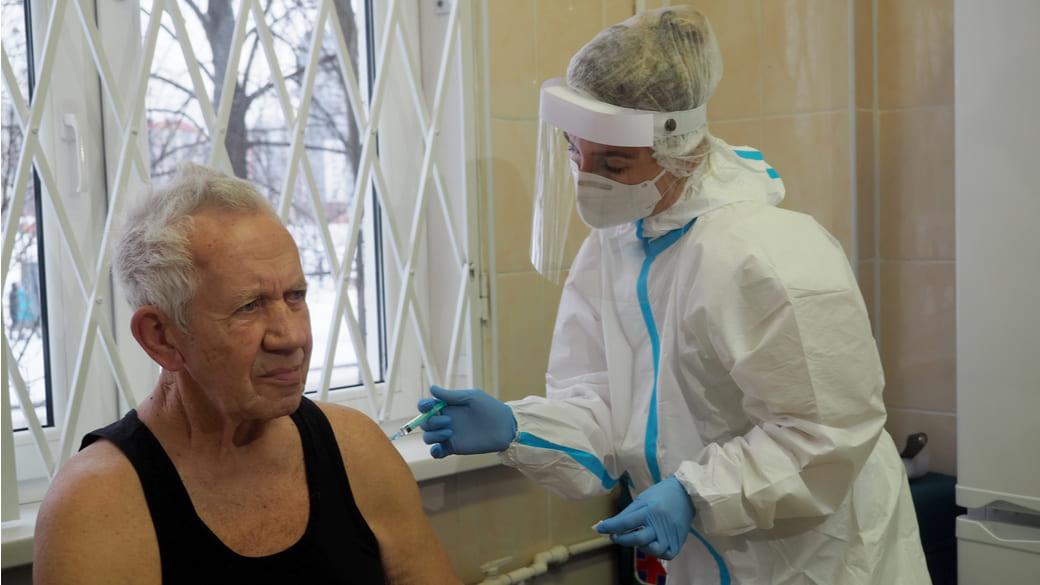 Coronaimpfung Sankt Petersburg