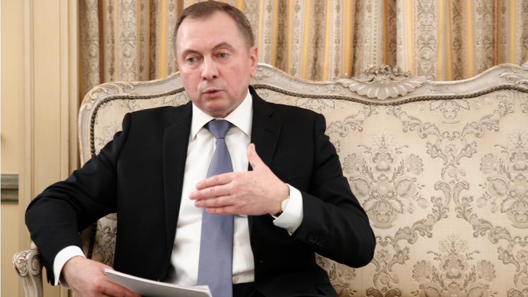 Belarussischer Außenminister Vladimir Make