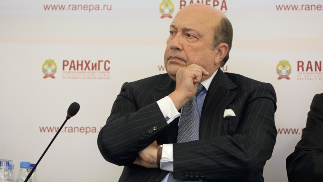 Ex-Außenminister Igor Ivanov