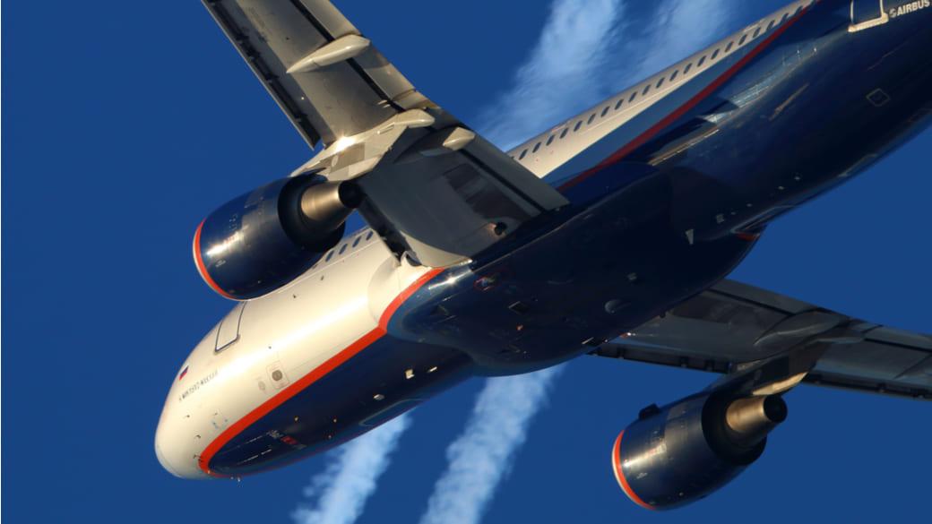 Flugzeug von Aeroflot