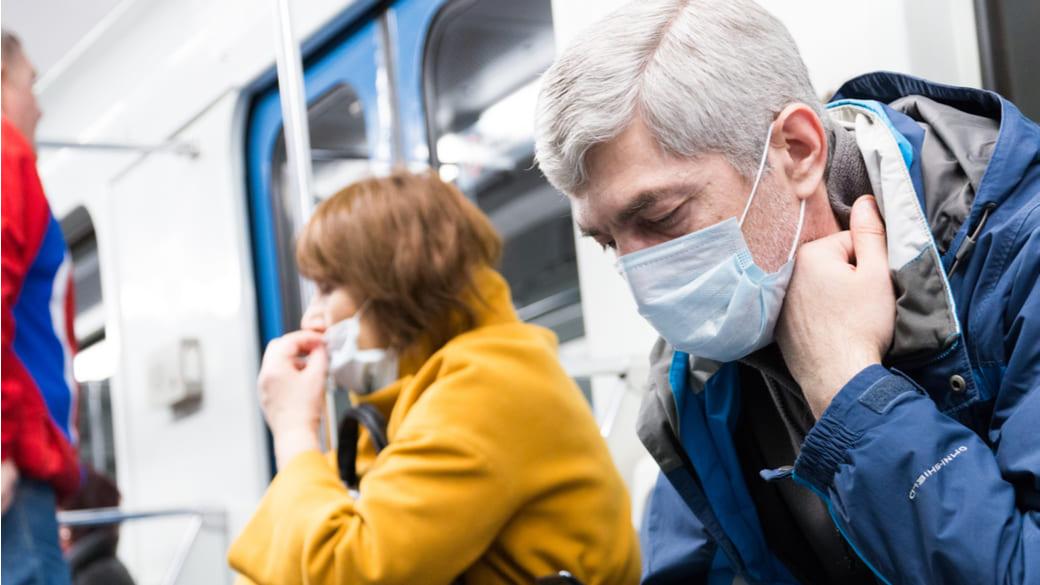 Metro Moskau Maske