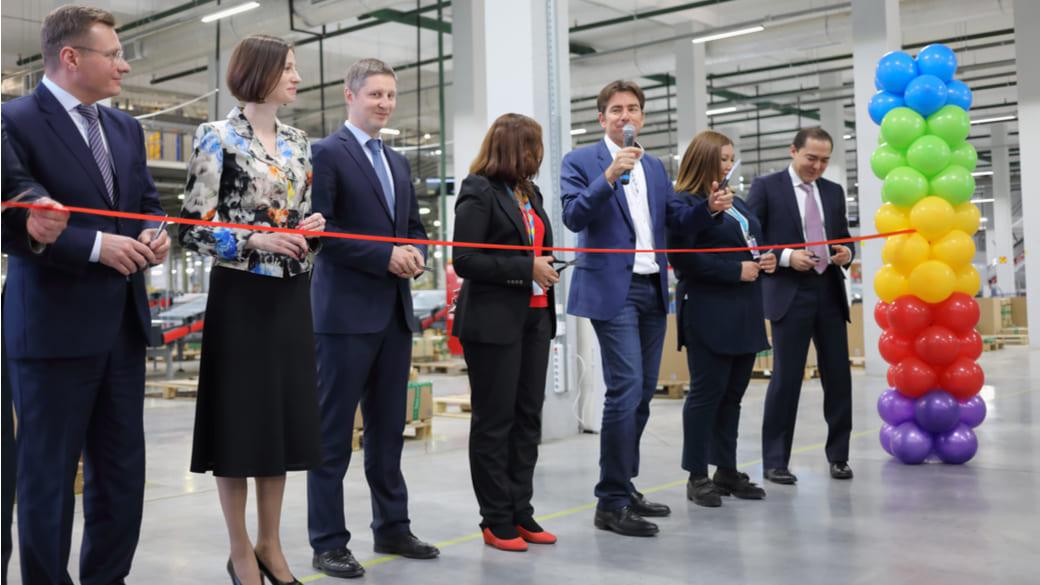 Geschäftseröffnung in Russland