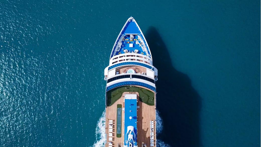 Kreuzfahrtschiff Mittelmeer