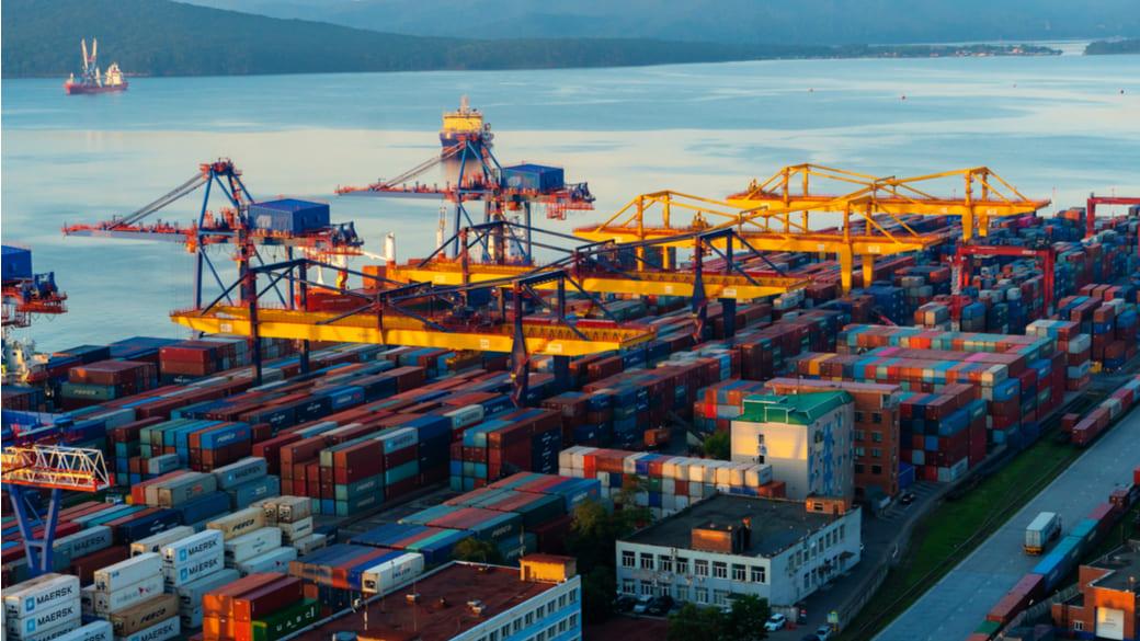 Containerhafen Wladiwostok