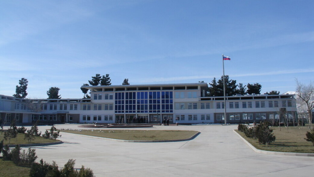 Russische Botschaft in Kabul (1)