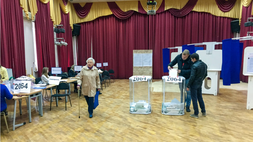 Duma Wahlen Russland