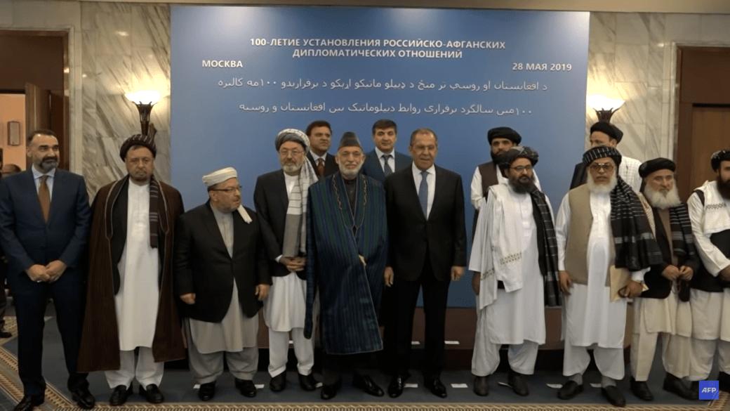 Taliban in Russland